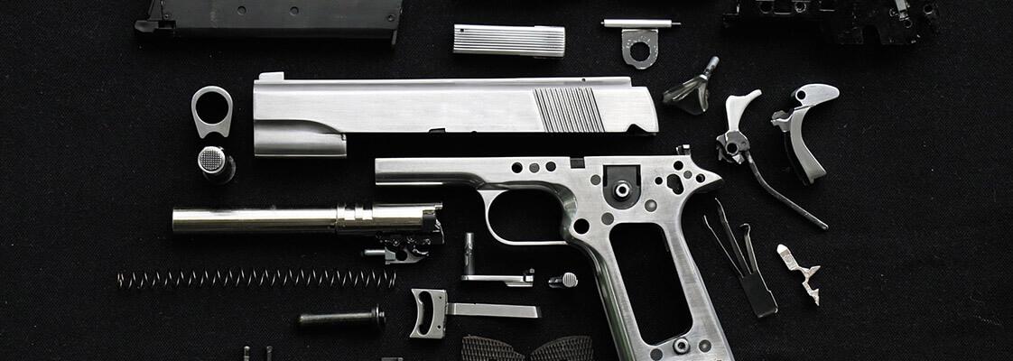Trezor na zbraně levně z bazaru