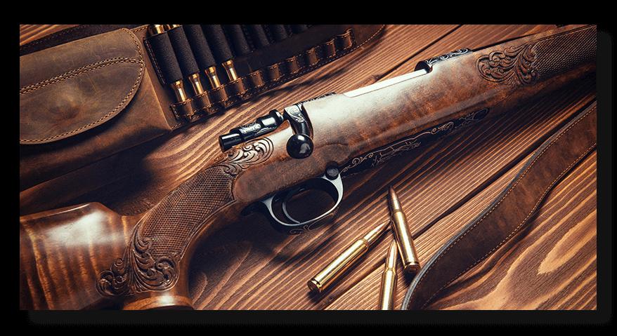 Trezor na dlouhé a lovecké zbraně
