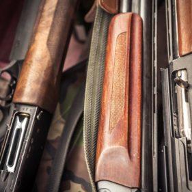 Trezor na zbraně určené pro lovení