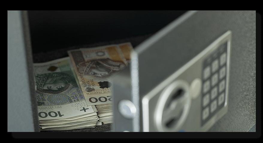 Trezor na cennosti a peníze